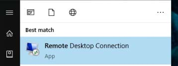 Remote Desktop Connection - W2W 1