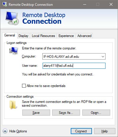 Remote Desktop Connection - W2W 3